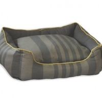 "Tonal Stripe Couch Pet Bed Size: Large - 25"" L x 31"" W"