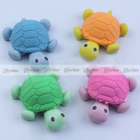 New Kawaii Korean Stationery Stationary Big Turtles Rubber Pencil Eraser Erase