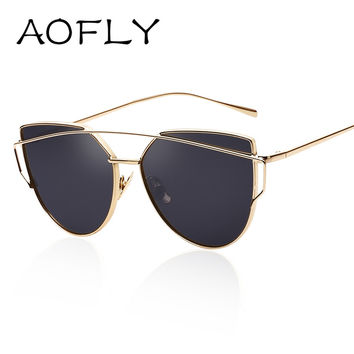 AOFLY Fashionable Cat Eye Sunglasses for Women