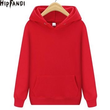 2018 Hoodie Men Solid color Hoodie Mens Sweatshirt Hip Hop Hoodies Pullover Fashion Male Brand Cotton Winter Sportswear