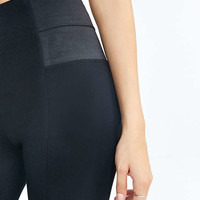 Silence + Noise Side-Panel Ponte Pant - Urban Outfitters