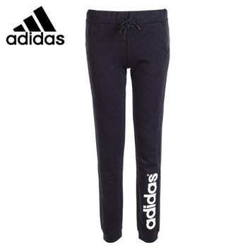 PEAP78W Original New Arrival  Adidas NEO Label Women's Knitted Running Pants  Sportswear