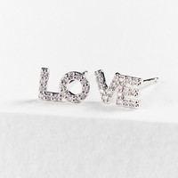 Cloverpost Love Post Earring | Urban Outfitters