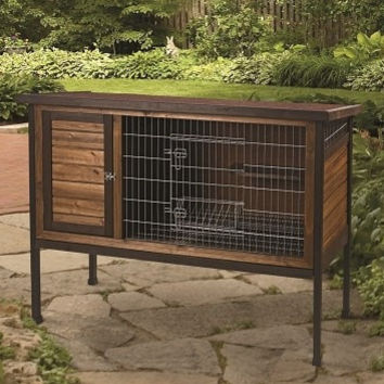 "SMALL ANIMAL - CAGES - RABBIT HUTCH - 48"" - CENTRAL - SUPER PET/PETs INTL - UPC: 45125652697 - DEPT: SMALL ANIMAL PRODUCTS"