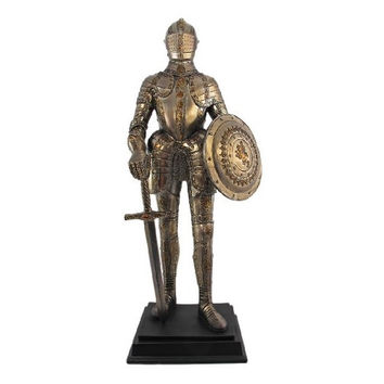 Medieval Knight In Armor Statue Figure Armour 8879