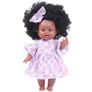 American Play Dolls Lifelike 35cm For Kids