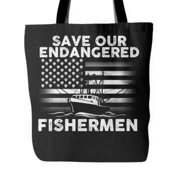 Scallopers Tote Bag - Save Our Endangered Fishermen