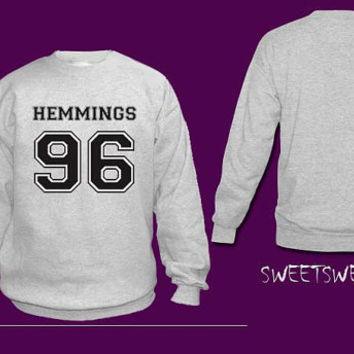 Luke Hemmings 96 sweater sweatshirt Unisex Women and Men