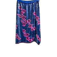 Cynthia Rowley - Floral Sequin Skirt | Bottoms by Cynthia Rowley