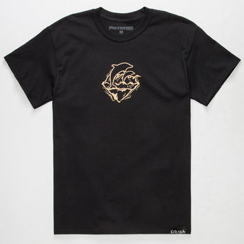 PINK DOLPHIN Bless The Wave Mens T-Shirt | Graphic Tees