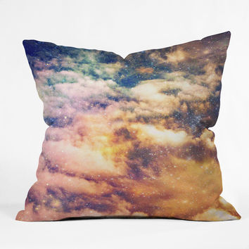 Shannon Clark Cosmic Throw Pillow
