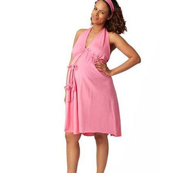 Pretty Pushers Labor & Delivery Gown {Hot Pink}