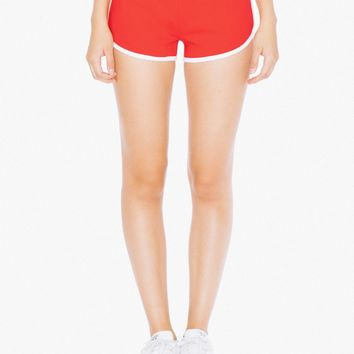Interlock Running Short | American Apparel
