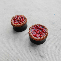 "Cherry pie basket ear plug,piercing real gauges,8,10,12,14,16,18,20,22,24,26,28,30mm;0g,00g;5/16"",3/8"",1/2"",9/16"",5/8"",3/4"",7/8"",1 1/4"""
