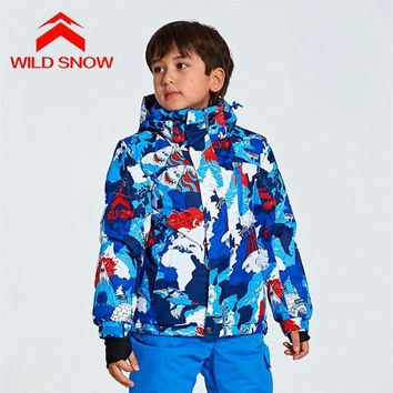New Thermal Full Sleeve Hooded Clothing Outdoor Sports Wear Warm Camping Coat  Waterproof Windproof Snowboarding Jackets