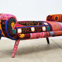 Patchwork bench - Samurai