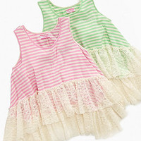 GUESS Kids Top, Girls Hi Low Tank - Kids Girls 7-16 - Macy's