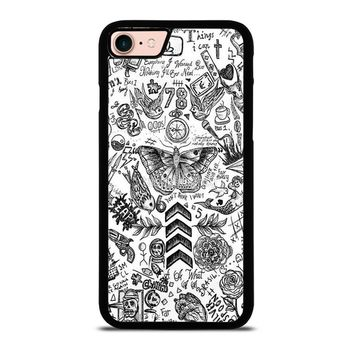 ONE DIRECTION TATTOOS iPhone 8 Case