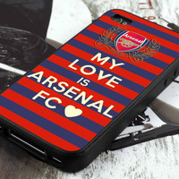 arsenal patterns football club ( BD) - iPhone 4 / iPhone 4S / iPhone 5 / Samsung S2 / Samsung S3 / Samsung S4 Case Cover