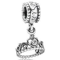 PANDORA Dangle Charm - Sterling Silver & Cubic Zirconia My Princess
