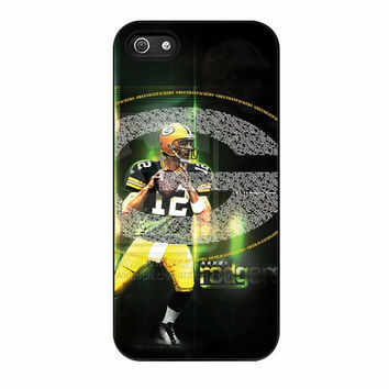 green bay packers aaron rodgers cases for iphone se 5 5s 5c 4 4s 6 6s plus