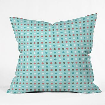 Caroline Okun Mistletoe Throw Pillow