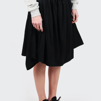 2-Way Jersey Skirt - black