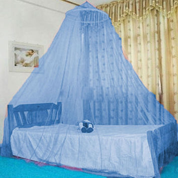 Partable tent Mosquito Net Aulic Round Mosquito Net Cradle Ger Style Baby Bed Room Netting Bedspread Canopy