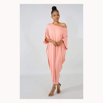 Loose Ends Lounging Dress