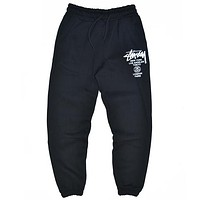 Stussy  Fashion Casual Simple Pants Trousers
