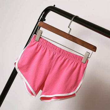 Summer Shorts Women  Shorts  Workout Waistband