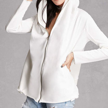 French Terry Zipper Cardigan