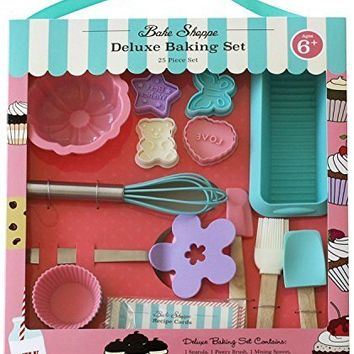 Handstand Kitchen Bake Shoppe 25-piece Deluxe Baking Set for Kids