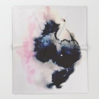 you were a daydream Throw Blanket by duckyb