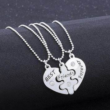 LNRRABC Women Necklaces Heart Round Butterfly Pendant Necklace Long Sweater Chain Fashion Jewelry Accessory Best Friend Gift