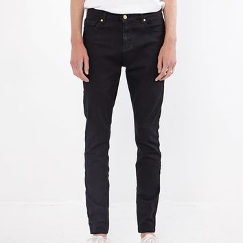 Jet Black Denim Jeans