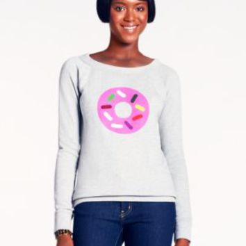 ksny x darcel donut graphic sweatshirt - kate spade new york