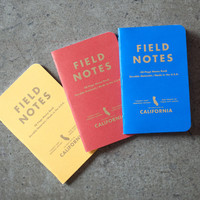 The Supply Room: Field Notes california