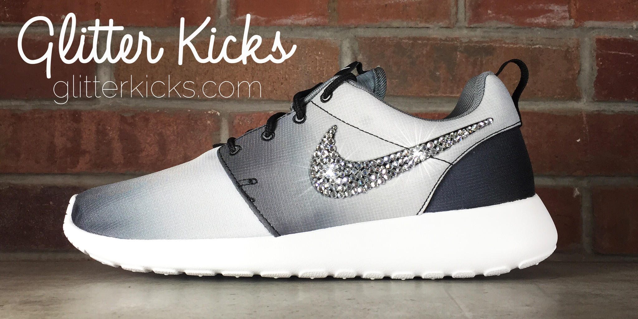 Women s Nike Roshe One Casual Shoes By from Glitter Kicks 843adebecb41
