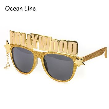 Hollywood Letters Shaped Birthday Party Glasses
