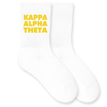Kappa Alpha Theta- Sorority Name