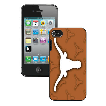 Iphone 4/4S Case U Texas Longhorns