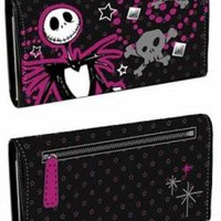 ROCKWORLDEAST - Nightmare before Christmas, Wallet, Purple Jack