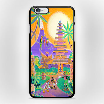 Tiki Room Vintage Disney iPhone 6 Plus Case