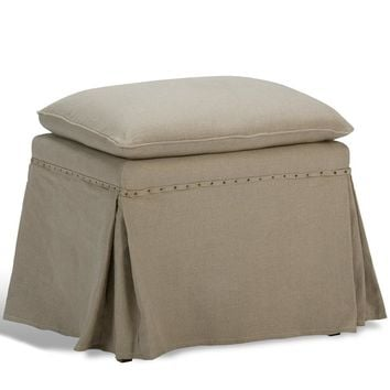 Draped Ottoman (Set of 2)