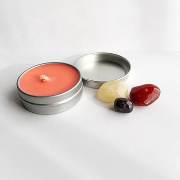 Passion ~ Soy Intention Candle, Essential Oil