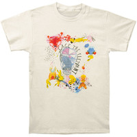 Cage The Elephant Men's  Album Cover T-shirt Ivory Rockabilia
