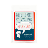 Bookworm - Wax Melt - Book Lovers' Soy Tart - 3oz Pack