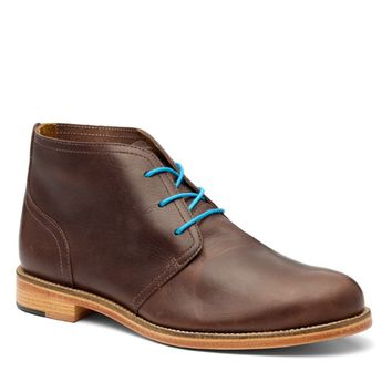Men's Dark Brown Leather Chukka Boots C5912 - Mens from J SHOES Online UK