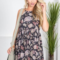 Cotton Ann Floral Dress